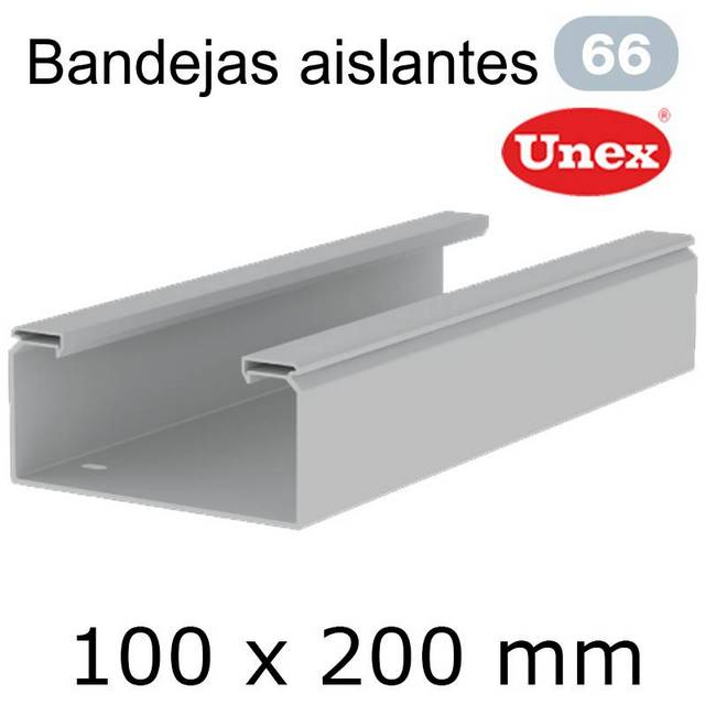 UNEX 66 BANDEJA PVC 100X200