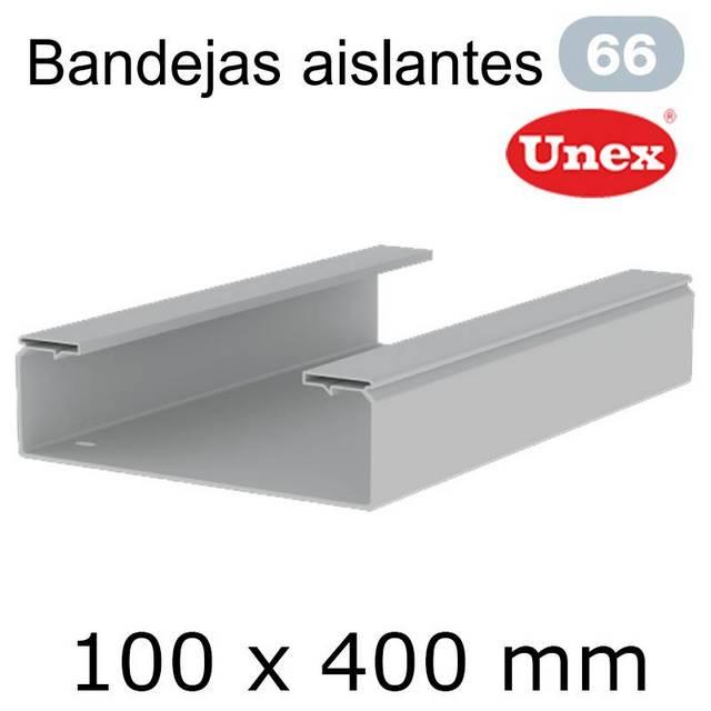 UNEX 66 BANDEJA PVC 100X400