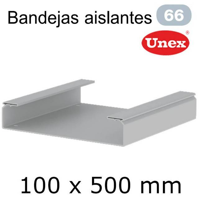 UNEX 66 BANDEJA PVC 100X500