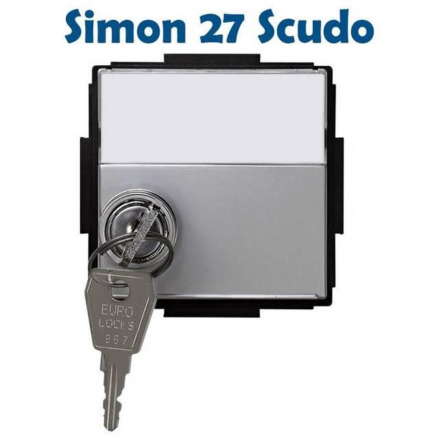 simon 27 scudo aluminio