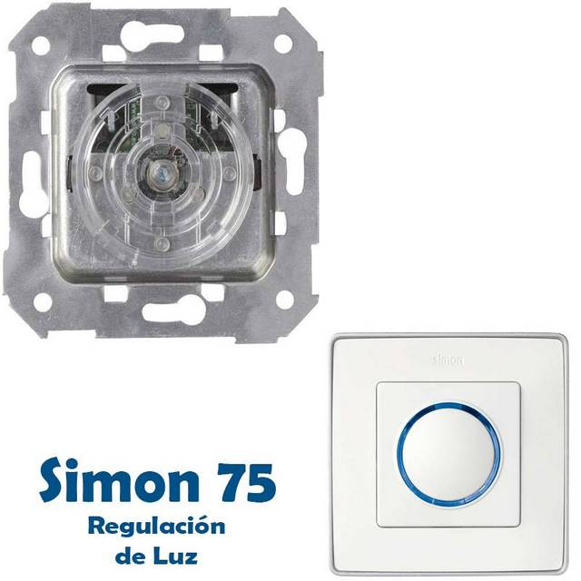 SIMON 75 REGULACION DE LUZ