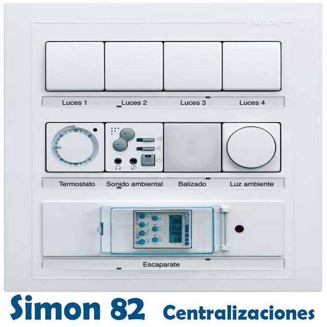 SIMON 82 CENTRALIZACIONES