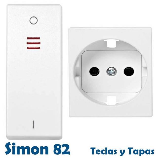 SIMON 82 CENTRALIZACIONES TECLAS Y TAPAS