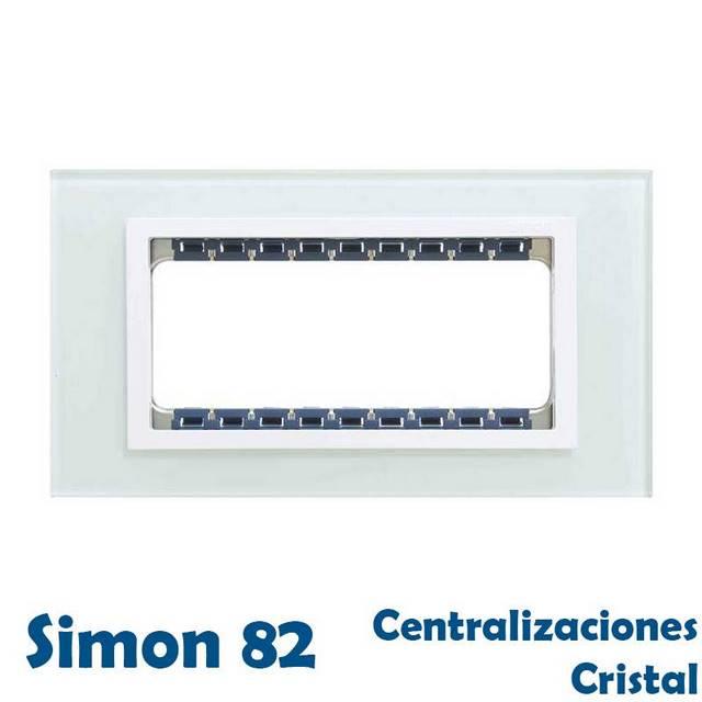 SIMON 82 CENTRALIZACIONES ACABADO CRISTAL