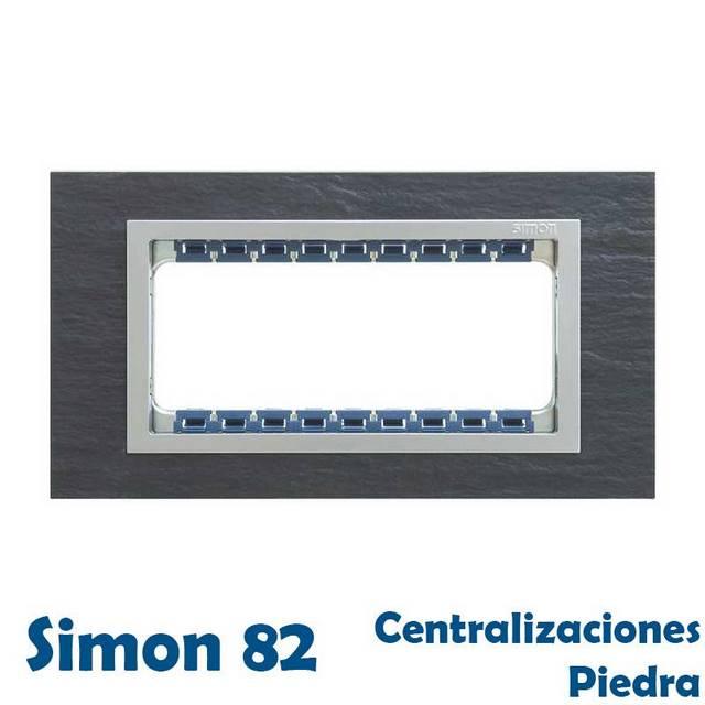 SIMON 82 CENTRALIZACIONES ACABADO PIEDRA